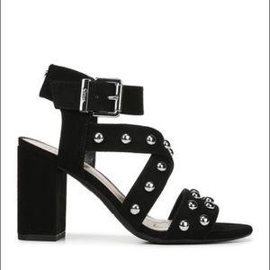 Sam Edelman wedges ankle strap strap black new 9